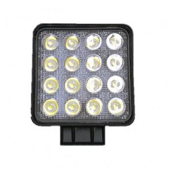 Farol Auxiliar LED Quadrado...